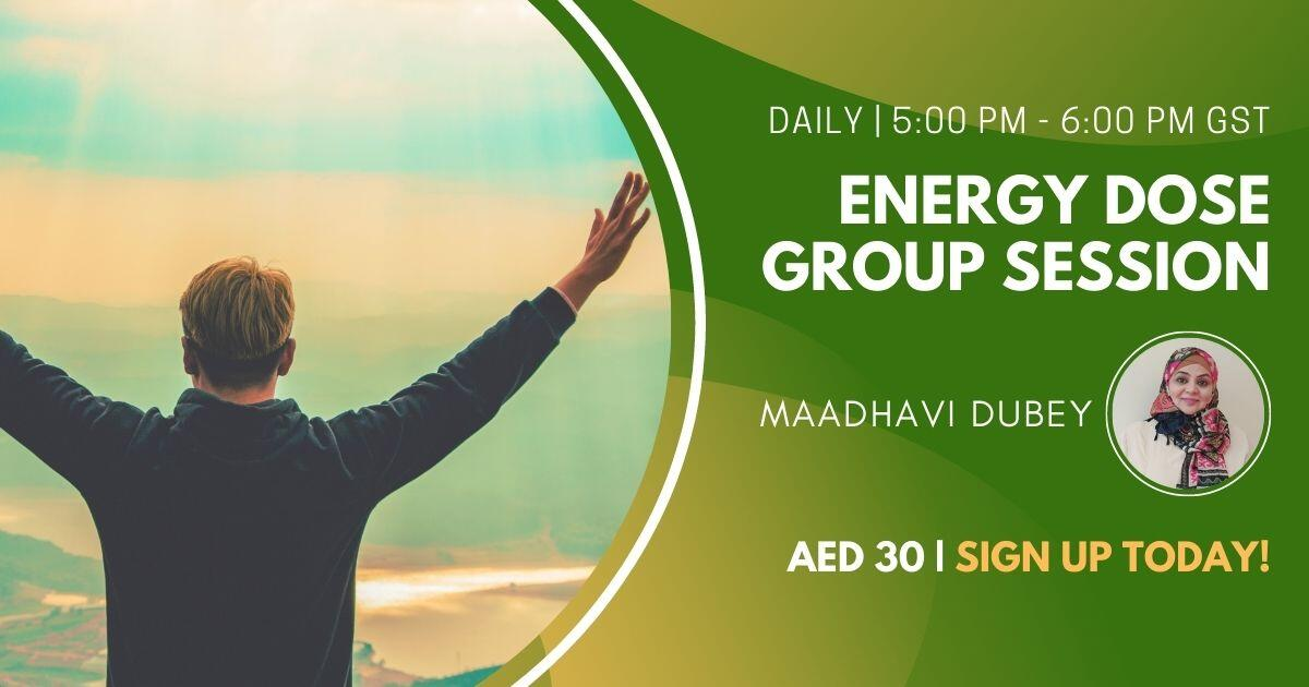 Energy Dose Group Session