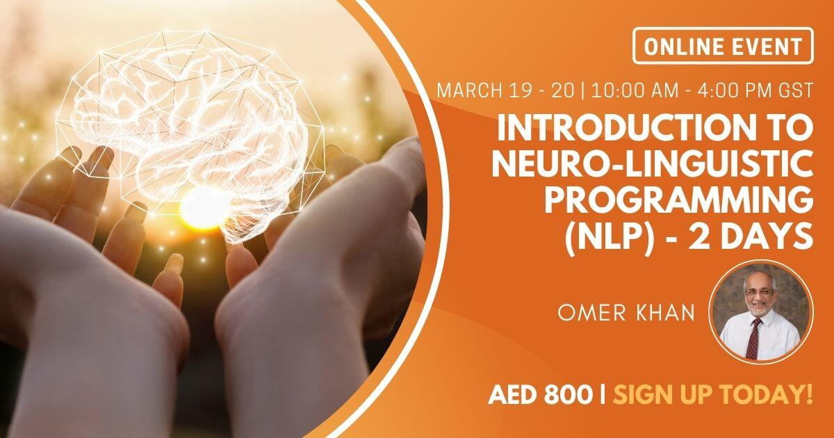 Introduction to Neuro-Linguistic Programming (NLP) - 2 Days