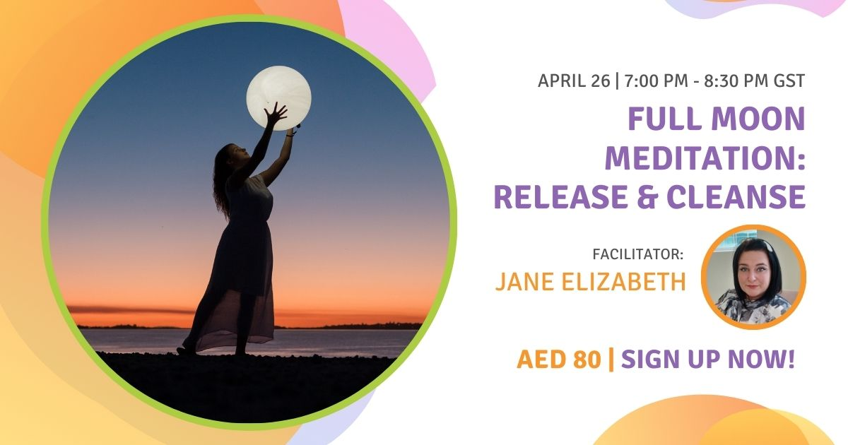 Full Moon Meditation Release & Cleanse